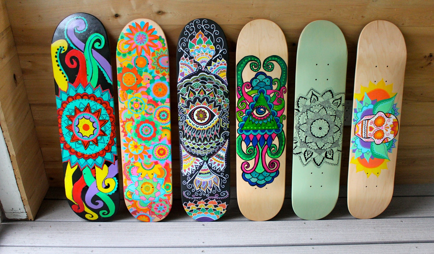Ways To Paint Designs On Skateboard