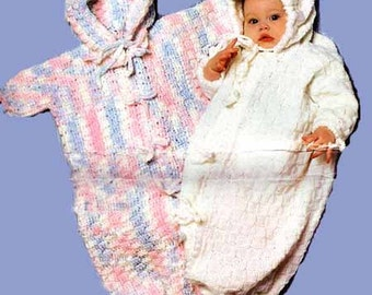 Baby Bunting Bag Knitting Pattern : baby bunting knitting patterns   Etsy