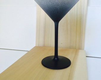 Gradient Martini Glass