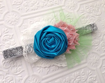 The Spring Fling Headband or Hair Clip