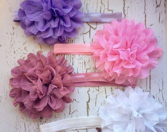 Over the Top Flower Headband