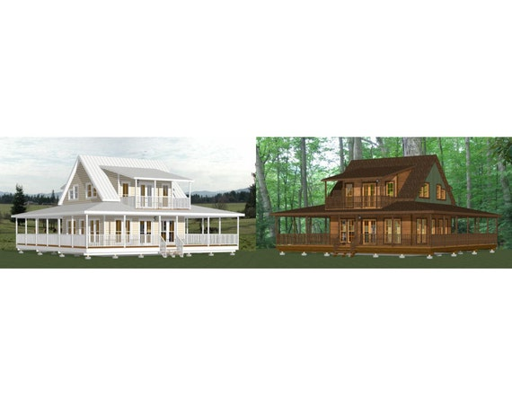 Items similar to 24x24 homes 3 bedroom 3 bath 1 076 for 32x32 cabin plans