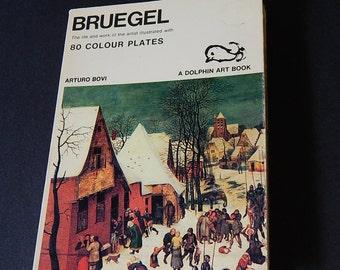 1971 Bruegel 80 Colour Plates Dolphin Art Book - Arturo Bovi - Italy