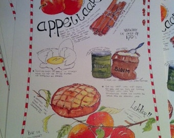 Recipe Grandma's apple pie - print