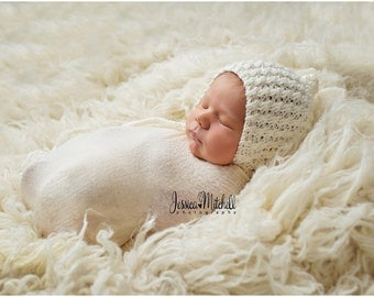 Newborn Bonnet Pattern, Pixie Bonnet Pattern, Knit Bonnet, Ari