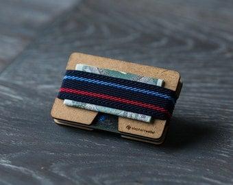 Small women's wallet, credit card wallet, modern design wallet, slim and minimalist wallet, modern design wallet, N wallet