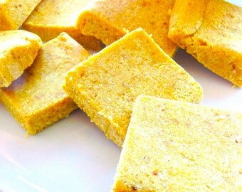 Organic Lemon Squares Raw Vegan Paleo