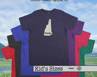 New Hampshire home tshirt KIDS sizes The Original home tshirt
