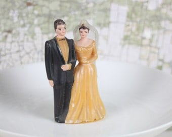Vintage wedding cake topper Etsy