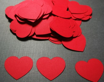 100  heart confetti,Customized Colors