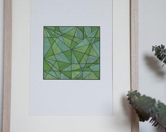 Cubed Print