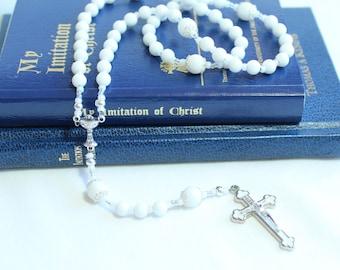 First Communion Catholic Rosary