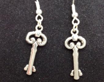 Steampunk earring OOAK