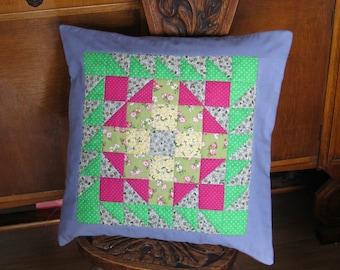 Patchwork Cushion.