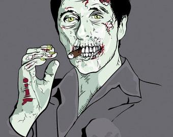 Zombie Al Pacino Scarface