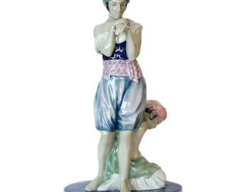 Scheherazade Porcelain Statue by Volkstedt