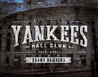 New York Yankees - Old Yankee Stadium Series Art- Perfect Father's Day, Birthday, Anniversary Gift - Unframed Prints