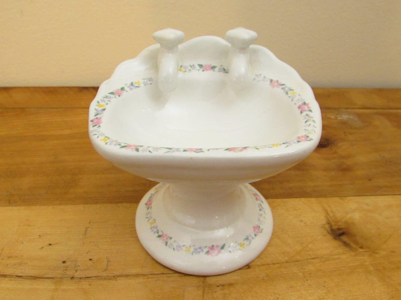 Vintage sink shaped soap dish ceramic soap dish bathroom - Ceramic soap dishes for bathrooms ...