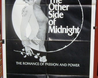 """VG-Near mint one sheet for the 1977 movie """"The other side of Midnight"""""""