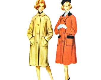 Womens coat pattern | Etsy