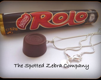 Funky Rolo (r) Pendant Necklace