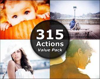 315 Photoshop Actions Photoshop Elements Actions