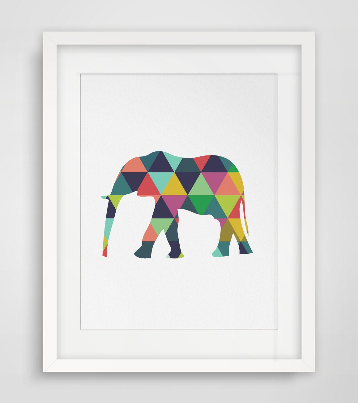 Elephant print elephant art elephant wall art elephant for Wall art prints