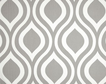 Gray polka dot curtains - Sale Premier Prints Emily Gray Tw Ill Grey And White Ogee Modern