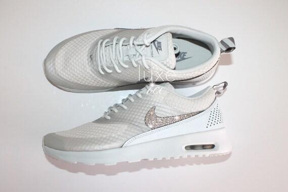 Nike Air Max Thea Shoes W Swarovski Crystals Detail