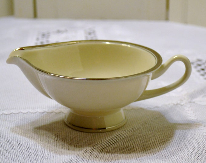 Vintage Syracuse China Countess Creamer White Platinum Replacement PanchosPorch