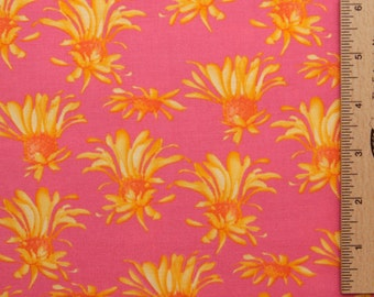 Tina Givens fabric Madison TG27 Beachside pink cotton fabric free spirit 100% Cotton sewing/quilting cotton fabric by the yard
