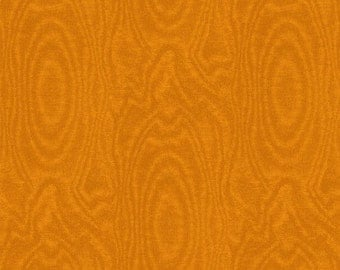 "21"" REMNANT That's A Moiré - Moire in Burnt Orange - Cotton Quilt Fabric - by Whistler Studios for Windham Fabrics (W2147)"