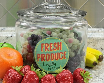 Items similar to Fresh Produce locally grown handpainted ...