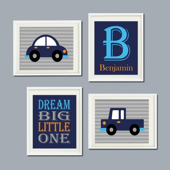 Car Nursery Wall Decor : Car wall art nursery decor transportation by