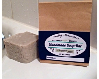 Clay Soap - Bentonite Clay Castille Soap - Cleansing Detoxing - Acne Pimples - Crunchy Mommy - Hippy Living, Healthy Homemaker, Clean Betty