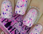 Funhouse Full Size Handmixed Glitter Indie Nail Polish from the Sideshow Alley Trio