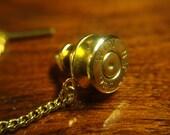 9mm Bullet Casing Tie Pin