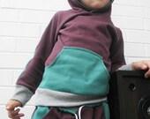 Unisex Kids Hoodie Size Newborn - 4