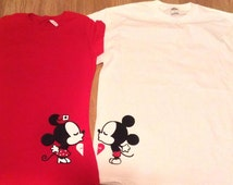 Popular Items For Mickey And Minnie Couple On Etsy