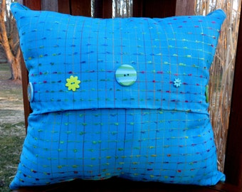 Decorative Hand Made Throw  Pillow. This is not a pillow cover