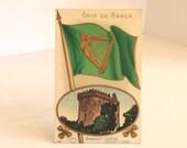 Vintage Postcard St. Patrick's Day Blarney Castle 1909
