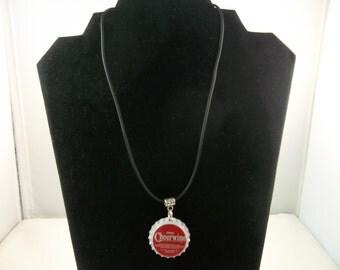 Cheerwine Bottle Cap Necklace