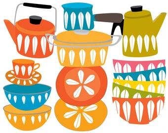 Clipart -  clip art - Kitchen Clipart Set