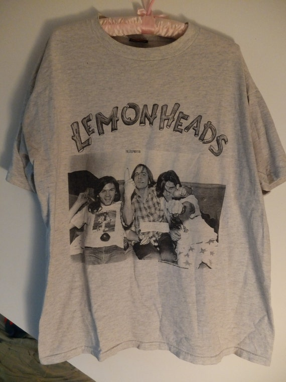 "Vintage Lemonheads ""Look after yourself"" t-shirt 90s"