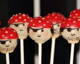 18 Pirate Cake pops