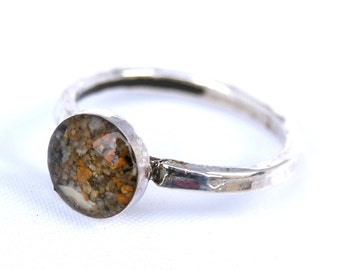 Sand Ring, Sand Jewelry Capturing Your Memories.