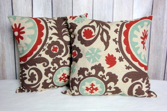 Brown Pillows. Medallion Pillow. Pillows. Pillow Covers. Accent Pillows. Fall Pillow Covers.Throw Pillow Covers. Cushion Covers