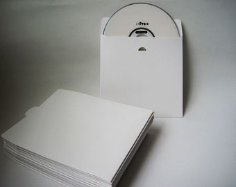 20pcs - White card paper CD DVD Envelope Sleeve (Insert) *PS002*