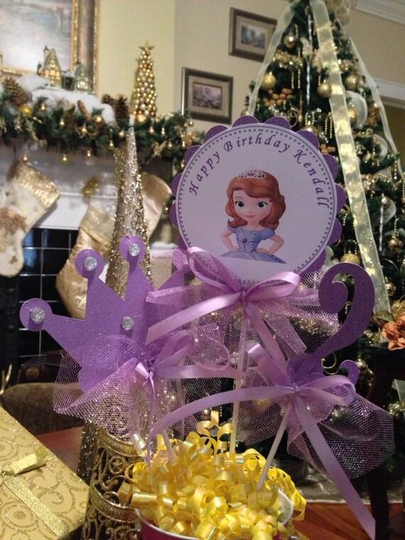 Princess Sofia Centerpieces 28 Images 17 Best