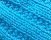 Blue Hawaii Broken Rib Knit Hat